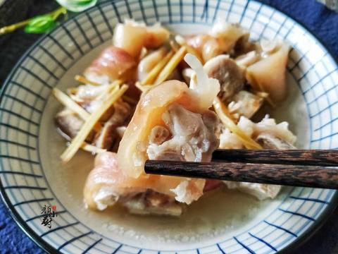 猪脚最好吃的做法,不炖,也不烧,清爽不油腻,一顿2斤不够吃