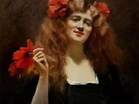 这位英国油画家以善于描绘美丽的女性而闻名!