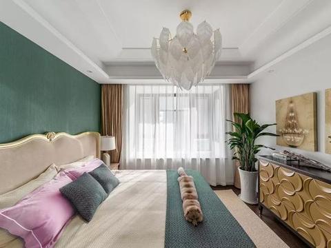136平美式装修,精致优雅、非常漂亮,这才是我理想中的房子!
