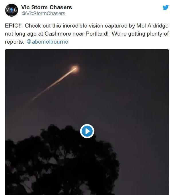 俄罗斯军事卫星在澳大利亚上空发射!火箭垃圾变成火球!