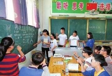 频临倒闭的私立中学,4年时间发展到14个班,校长决定了学校发展