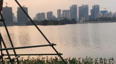 海南海口市的红城湖,成为老海口人民的记忆