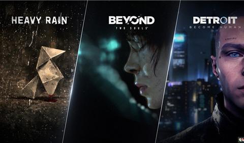《底特律:变人》《超凡双生》《暴雨》三款游戏上架Steam