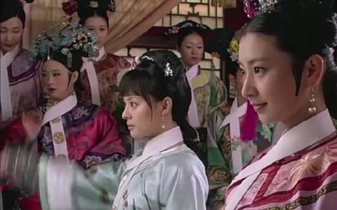 《甄嬛传》:众小主拜见皇后的时候眉庄和甄嬛凭什么站在最前面?
