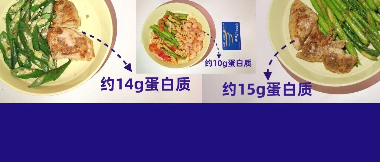 食物份量图 | 想「多吃肉」?缺不缺「蛋白质」自己心里没数吗?