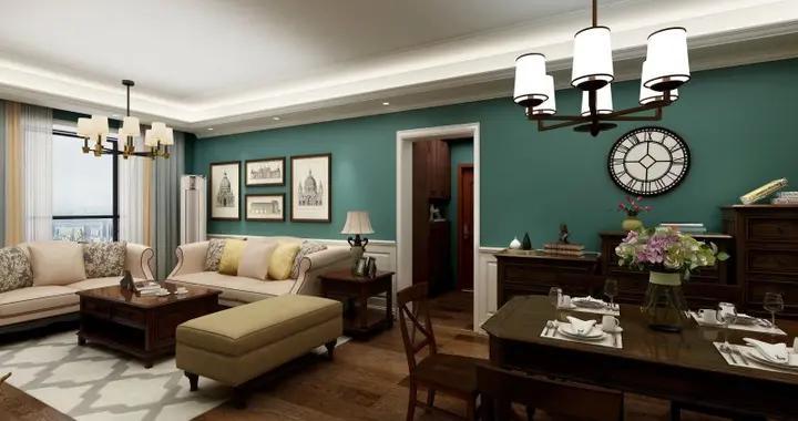 美式风格的119.33平米的三居室装修成这样,亲朋好友都艳羡-华凯逸悦豪庭装修