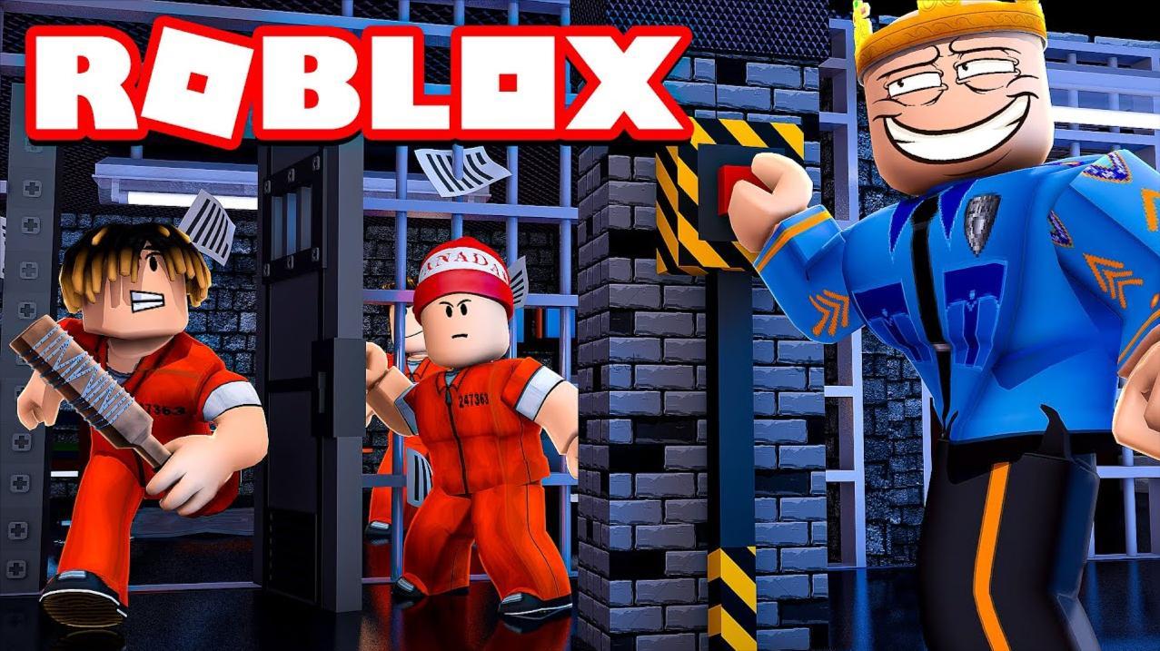 Roblox越狱故事模拟器:搞笑低配版越狱!差点被警察抓?小格解说