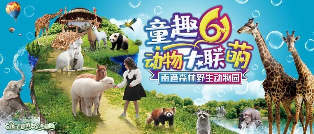 【六一特惠】儿童仅需6.1元,畅游南通森林野生动物园!