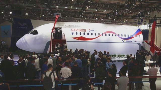 C919飞机订单已达815架 中俄合研C929已初步设计