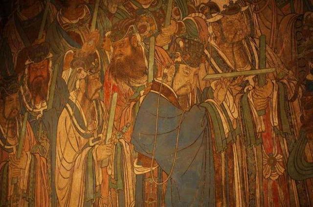 山西运城最低调古建筑,墙壁上的永乐宫壁画,在国内也很罕见