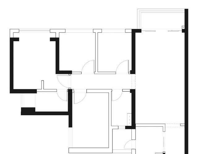 她家89㎡的房子巧用黑白灰,装出高级范,全屋很漂亮