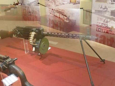 95年前苏联列装第一款轻机枪 曾经援助中国1400挺 参加抗日战争