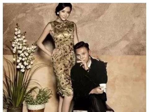 郭可颂超大度,昔日带老婆拍婚纱,熊黛林连换5套裙子凹造型