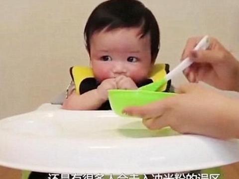 婴儿的米粉喂养误区比奶粉还多,关于米粉这些事,早知道早避错