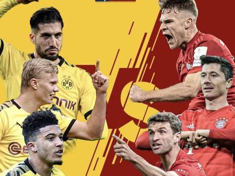 多特拜仁打响13.4亿欧豪阵对决!五大联赛再迎国家德比