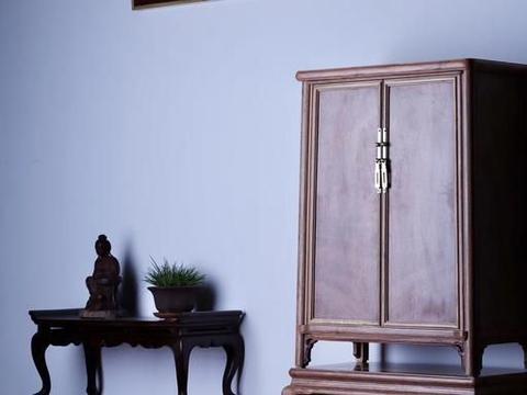 缅甸花梨,案头圆角柜,书房茶室推荐