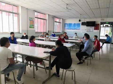 北京市丰台区晓月苑小学迎接开学准备就绪
