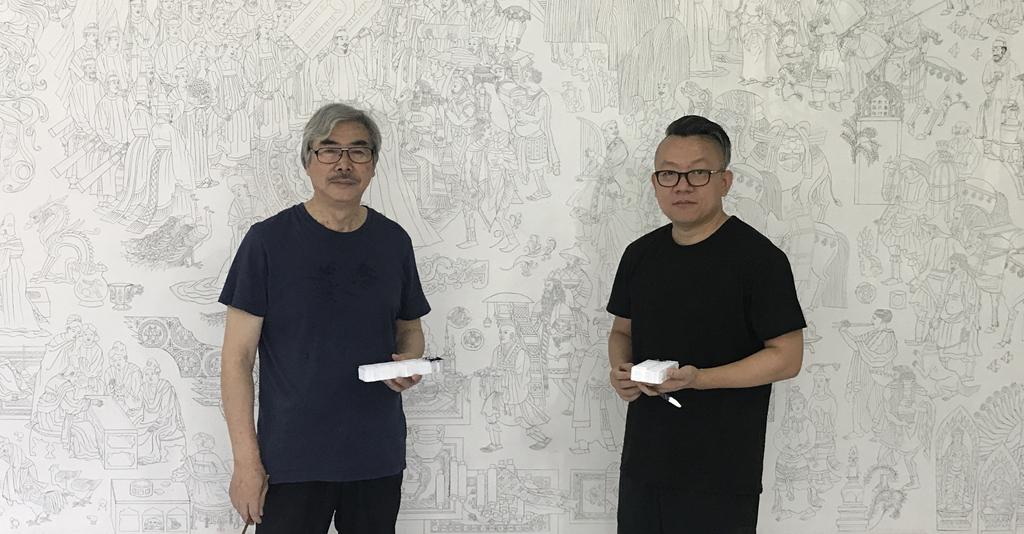 品读经典——赏画家刘永杰、韩勃正《大唐盛景图》画卷
