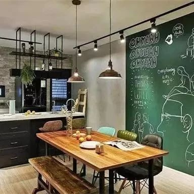 家里打算装修的,都来看看这些餐厅设计,每一款都好美