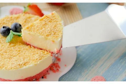 拌一拌、冻一冻,无需烤箱就能做好蛋糕,雪糕般的口感!