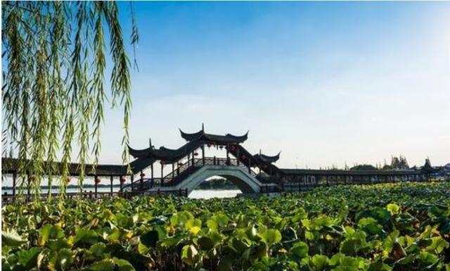 江南水乡的这座古镇,可媲美周庄古镇,南宋皇妃水葬于此