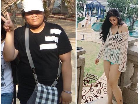 重210斤女孩自卑到没朋友,如今甩肉100斤模样大变追求者众多