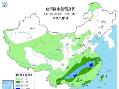 南方雨势迎转折!下一轮倾盆大雨!暴雨中到大雨将落在下列省份