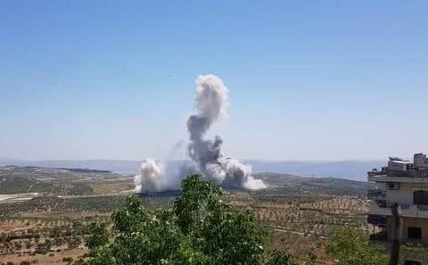 土耳其一支精锐全军覆没,爆炸声响彻叙利亚山谷,美英法求俄冷静