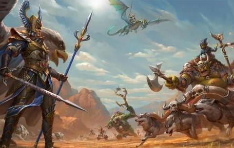 《战锤:全面战争2》新DLC预告 高等精灵VS绿皮世仇