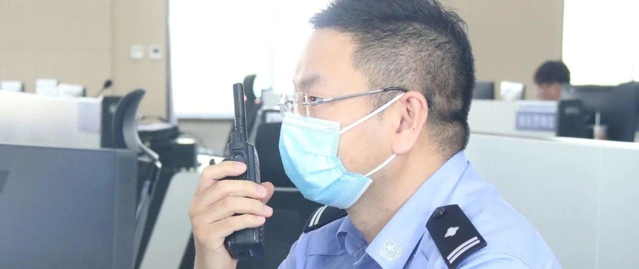 【两会安保】带伤守阵地  战场不缺席