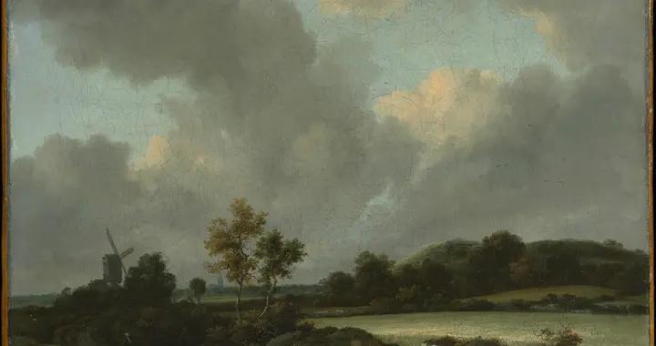 荷兰油画家Jacob van Ruisdael:擅长捕捉大自然的力量与活力