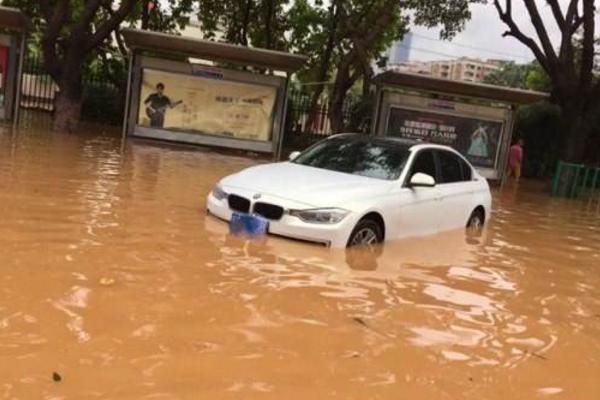 广东大量汽车被淹,灾情过后泡水车何处何从?