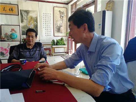 承先启后 开创未来 唐山市古冶区风雅书画院成立