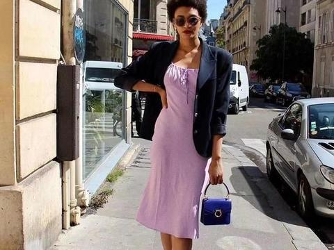 时尚博主都在穿的紫色太美了!紫色绝美穿搭已为你备好