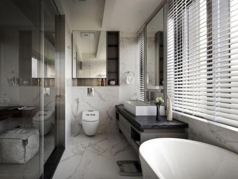 越来越多人这么装修卫生间,4个细节处理好,入住会越住越舒服