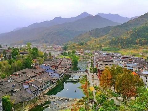 青木川:陕甘川三省交界的文艺古镇,西北地区温婉的世外桃源
