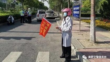 """黄骅交警对非机动车逆行、闯红灯交通违法行为""""零""""容忍"""