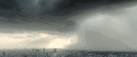 今夜到明晨上海大到暴雨,还有大风雷电