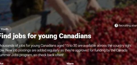 加拿大为年轻人提供4万份暑期工作