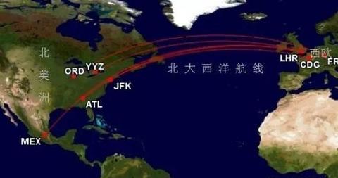 1942年美国因北大西洋航线出状况而暂停经此路线的对苏援助