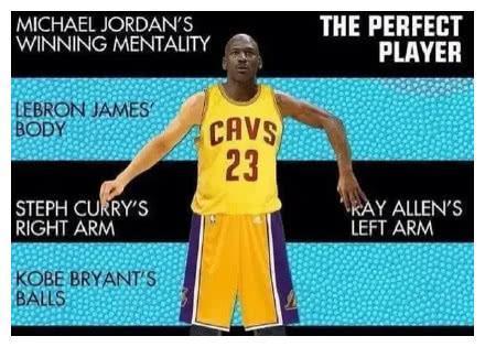 上帝的真身?17位巨星合为一体!NBA最完美的超级战士有多可怕?