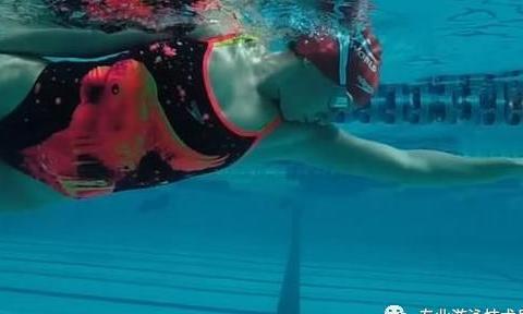 自由泳前进时摇摆是怎么回事?划水与身体侧转的关系