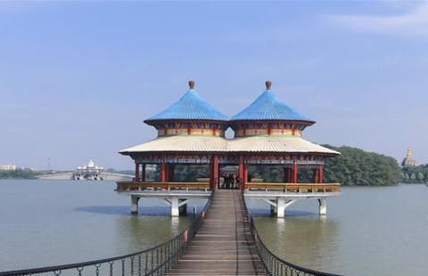 安徽阜阳唯一国家5A级旅游景区,风景如画,值得大家一游