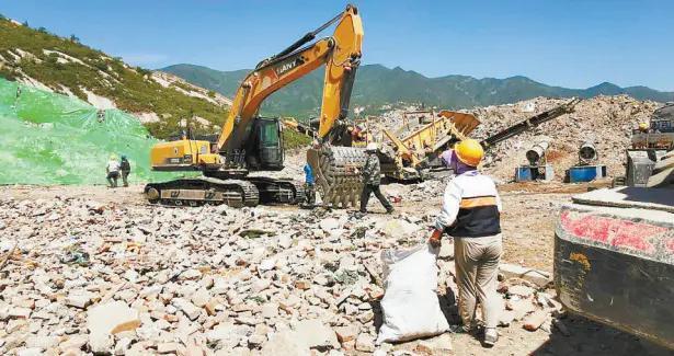 """开槽黄土归属矿产资源,建筑垃圾管理晒在""""阳光""""下"""