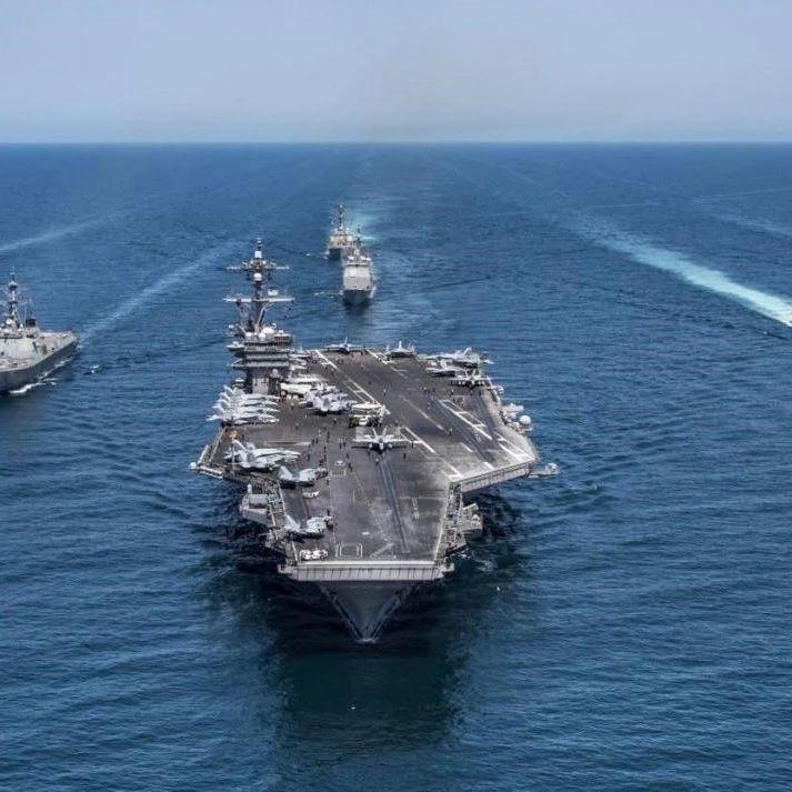 大批航母隐身机就位,美军动武前兆出现了?张召忠对此早有预言