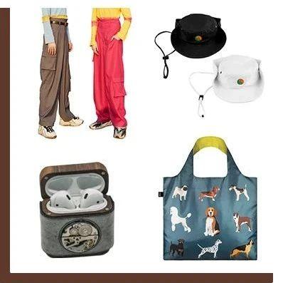 买物教室   超宽松阔腿裤、airpods保护壳、渔夫帽,环保袋。
