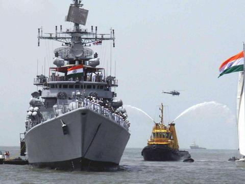 疫情也阻止不了印度搞事,140艘军舰上门挑衅,矛头已对准东方