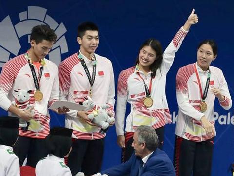 中国游泳队冲新增大项,4大王牌联手却耐人寻味,已没有孙杨身影