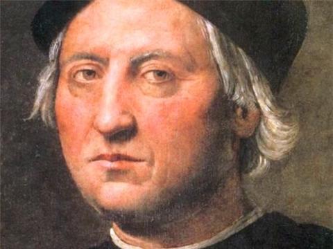 他写了一本书闻名欧洲,一个大洲还以他命名,名字听着耳熟