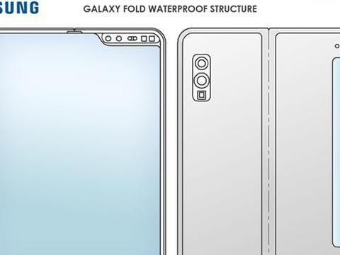 三星新一代折叠屏手机支持防水?新专利曝光,前后双屏设计